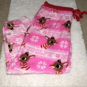 Christmas Holiday pajama pant Rudolph size XL